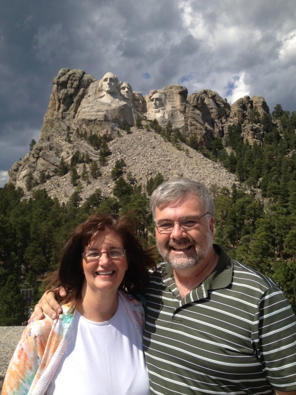 My Mom & Dad on their Road Trip to Mt. Rushmore
